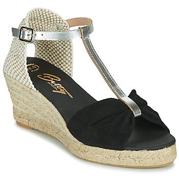 Schuhe Damen Sandalen / Sandaletten Betty London OREINOA Schwarz