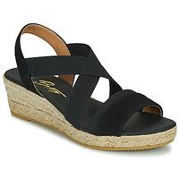 Schuhe Damen Sandalen / Sandaletten Betty London OLINDR Schwarz