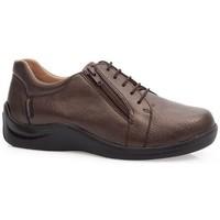 Schuhe Damen Derby-Schuhe & Richelieu Calzamedi SCHUHE  DIABETIC 0749 BROWN