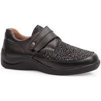 Schuhe Damen Derby-Schuhe & Richelieu Calzamedi DIABETIC ELASTIC  SCHUHE BLACK