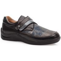 Schuhe Damen Derby-Schuhe & Richelieu Calzamedi DIABETIC ELASTIC  SCHUHE SCHWARZ BLAU