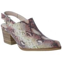 Schuhe Damen Pantoletten / Clogs Calzados Vesga Zueco Campero y Tejanos para Mujeres de Melcris 6511 Rose