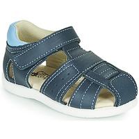 Schuhe Jungen Sandalen / Sandaletten Citrouille et Compagnie OLISS Blau