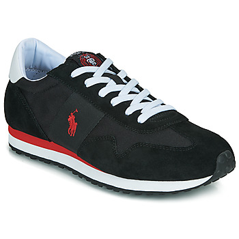 Schuhe Herren Sneaker Low Polo Ralph Lauren TRAIN 85-SNEAKERS-ATHLETIC SHOE Schwarz / Rot