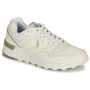 Schuhe Herren Sneaker Low Polo Ralph Lauren TRCKSTR PONY-SNEAKERS-ATHLETIC SHOE Weiss
