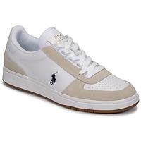 Schuhe Herren Sneaker Low Polo Ralph Lauren POLO CRT PP-SNEAKERS-ATHLETIC SHOE Weiss