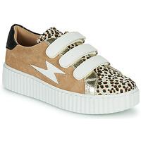 Schuhe Damen Sneaker Low Vanessa Wu BK2206LP Beige / Leopard