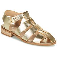 Schuhe Damen Sandalen / Sandaletten Vanessa Wu SD2255OR Gold