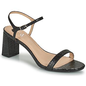 Schuhe Damen Sandalen / Sandaletten Vanessa Wu SD2210NR Schwarz