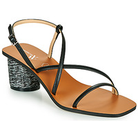 Schuhe Damen Sandalen / Sandaletten Vanessa Wu SD2226NR Schwarz