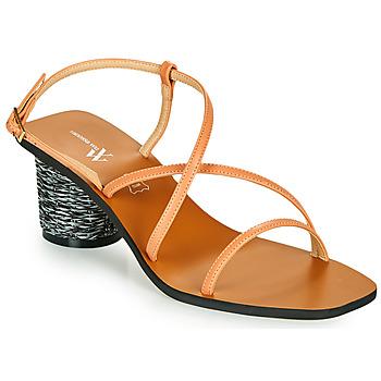 Schuhe Damen Sandalen / Sandaletten Vanessa Wu SD2226SM Orange