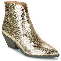 Schuhe Damen Low Boots Vanessa Wu MINNA Gold