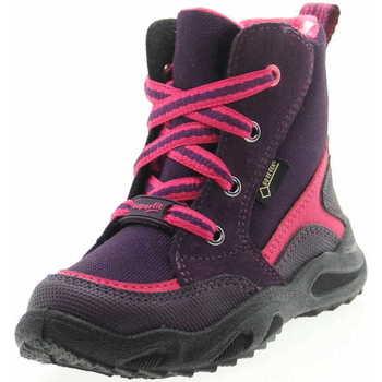 Schuhe Mädchen Schneestiefel Superfit 0 509234 9000 Glacier Mädchen Schürboots Lila Blau
