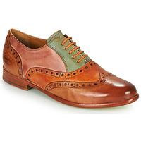 Schuhe Damen Derby-Schuhe Melvin & Hamilton SELINA 24 Braun