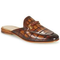Schuhe Damen Pantoffel Melvin & Hamilton SCARLETT 4 Braun
