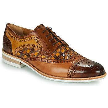 Schuhe Herren Derby-Schuhe Melvin & Hamilton HENRY 7 Braun