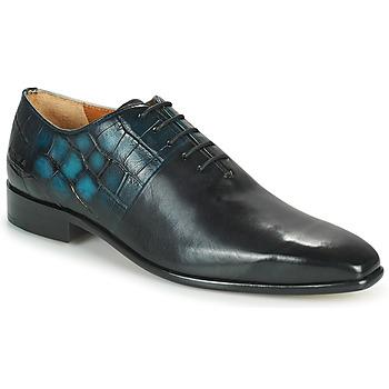 Schuhe Herren Richelieu Melvin & Hamilton LANCE 61 Schwarz / Blau