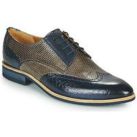 Schuhe Herren Derby-Schuhe Melvin & Hamilton BOBBY 1 Grau / Blau