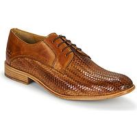 Schuhe Herren Richelieu Melvin & Hamilton EDDY 8 Braun
