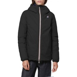 Kleidung Damen Parkas K-Way Marguerite Thermo Plus 2 doppelt schwarz  KWAYK11 Noir