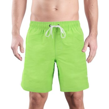 Kleidung Herren Badeanzug /Badeshorts Sundek Badehose grun  SUNM505BDTA100 608 vert