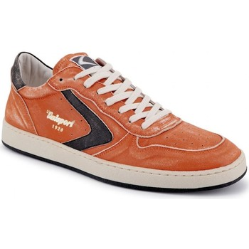 Schuhe Herren Sneaker Low Valsport Neu Davis Nappa Geburstet Orange  VALVDSL002M 1 orange