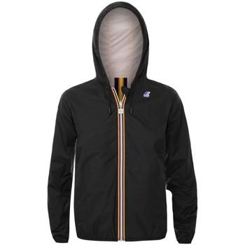 Kleidung Jungen Jacken K-Way Lily Plus Doppelte Madchenjacke schwarz  KWAYK002 Noir