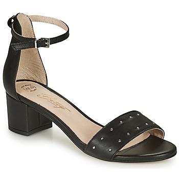 Schuhe Damen Sandalen / Sandaletten Betty London OLAKE Schwarz