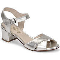 Schuhe Damen Sandalen / Sandaletten Betty London OSKAIDI Silbern