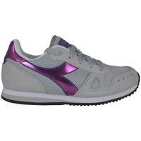 Schuhe Mädchen Laufschuhe Diadora simple run gs girl 65010 Rose