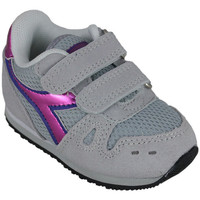 Schuhe Mädchen Laufschuhe Diadora simple run td girl 65010 Rose