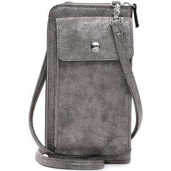 Taschen Damen Geldtasche / Handtasche Emily & Noah Handyetui Emma darksilver 833