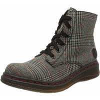 Schuhe Damen Stiefel Rieker  grau