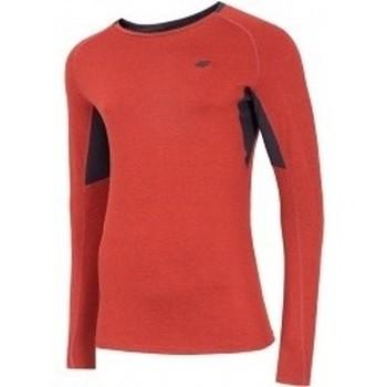 Kleidung Herren Sweatshirts 4F Mens Functional Longsleeve Rot