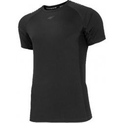 Kleidung Herren T-Shirts 4F Mens Functional Schwarz