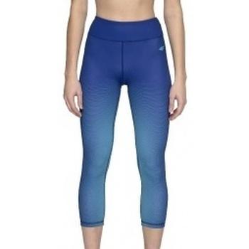 Kleidung Damen Leggings 4F Womens Functional Trousers Blau