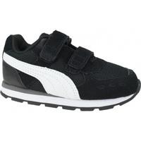 Schuhe Kinder Multisportschuhe Puma Vista V Infants Schwarz