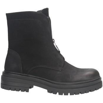 Schuhe Damen Low Boots Gold&gold GR130 SCHWARZ / FELSEN