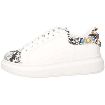 Schuhe Damen Sneaker Low Gold&gold GA576 WEISSER FELSEN
