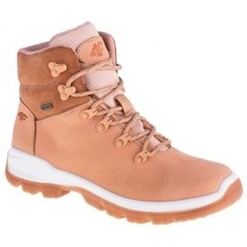 Schuhe Damen Boots 4F Womens Trek Rosa