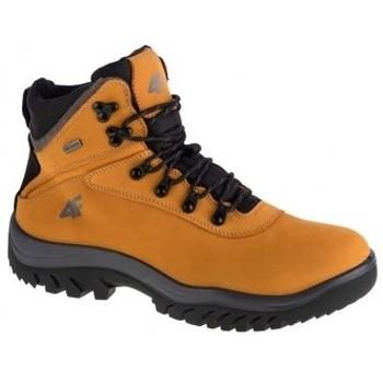 Schuhe Herren Boots 4F Mens Trek Gelb