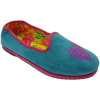Schuhe Damen Hausschuhe De Fonseca DEFONFIUACCazz blu