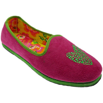 Schuhe Damen Hausschuhe De Fonseca DEFONFRIUACCfux blu