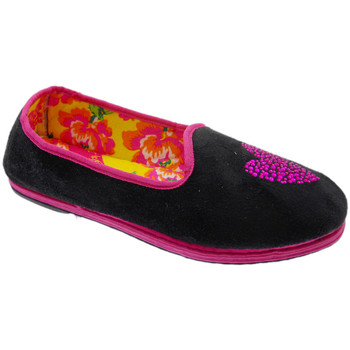 Schuhe Damen Hausschuhe De Fonseca DEFONFRIUACCner nero