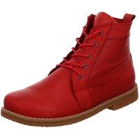 Schuhe Damen Stiefel Andrea Conti Stiefeletten 0348718583 rot