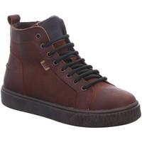 Schuhe Jungen Stiefel Bisgaard Schnuerstiefel 61806.220-1322 brandy Leder 61806.220-1322 braun