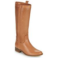 Schuhe Damen Klassische Stiefel Betty London ONEVER Cognac