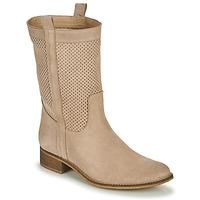 Schuhe Damen Klassische Stiefel Betty London ONEVAR Beige
