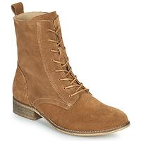 Schuhe Damen Boots Betty London ORYPE Cognac