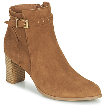 Schuhe Damen Low Boots Betty London OSANDA Braun